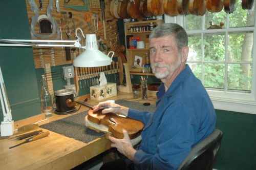 John C Safian is the owner of Wamsley Violins